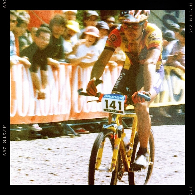 John Tomac na WC XC no Jamor '97... sim já houve ali uma prova da taça do mundo