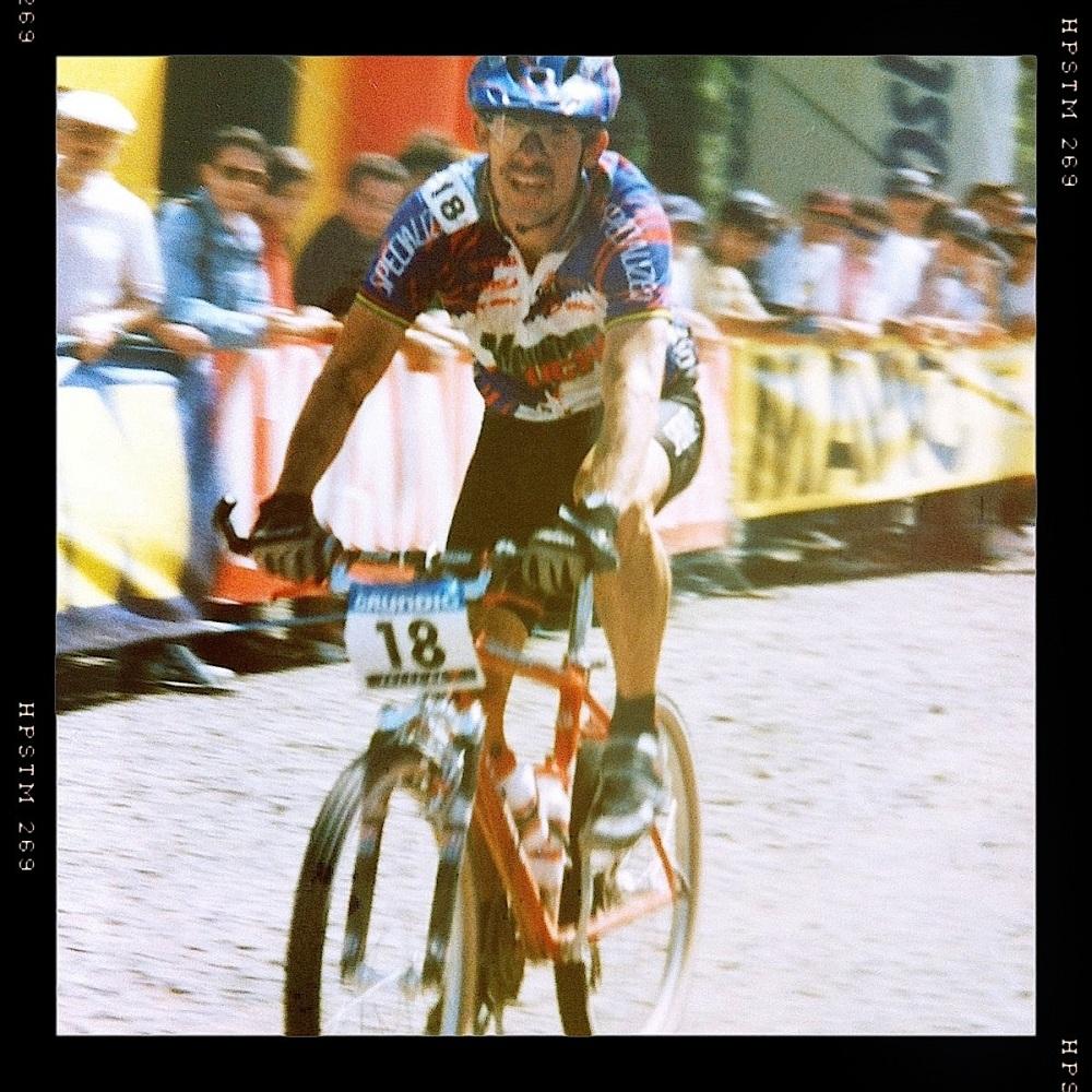Ned Overend na WC XC no Jamor '97.... sim já houve ali uma prova da taça do mundo